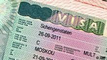 EU und Russland führen Gespräche über Visafreiheit für russische Staatsbürger