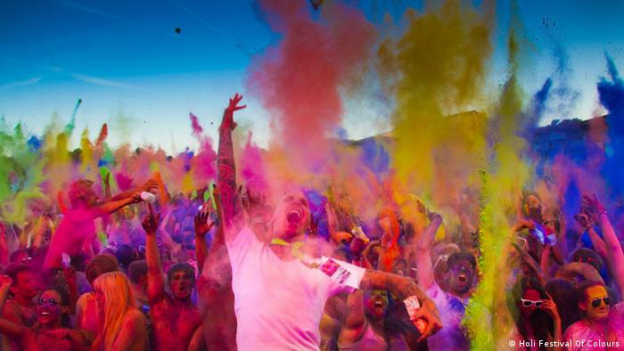 Bildergalerie Holi Festival Of Colours