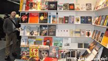 Buchmesse Leipzig Bücherstand Weißrussland Belarus 2013