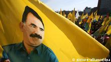 Abdullah Öcalan Kurden Führer Hannover Demonstration PKK