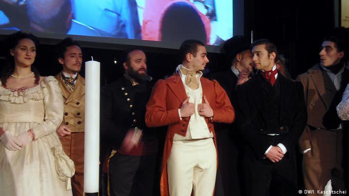Гоголівські герої на один вечір ожили в римському театрі Сістіна