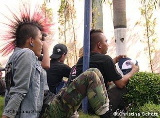 Indonesische Punks: Keine Seltenheit