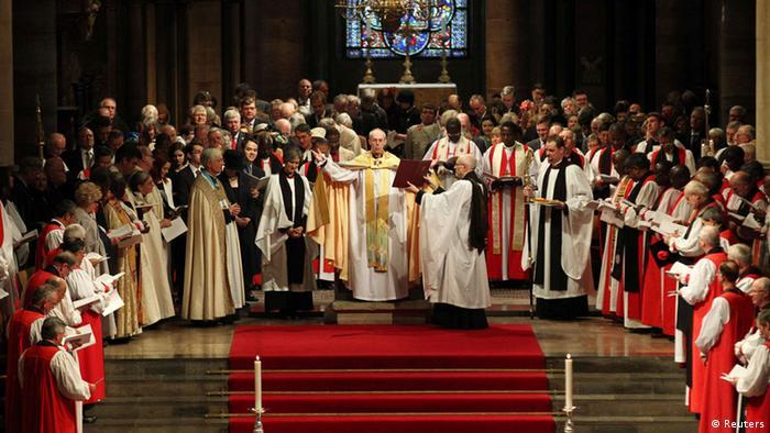 Întronizarea arhiepiscopului de Canterbury, Justin Welby, şeful Bisericii Anglicane