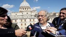 Adolfo Perez Esquivel Audienz beim Papst