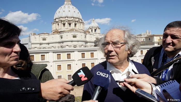Adolfo Perez Esquivel Audienz beim Papst (Reuters)