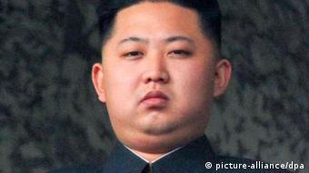 A portrait of Kim Jong-Un (c) picture-alliance/dpa
