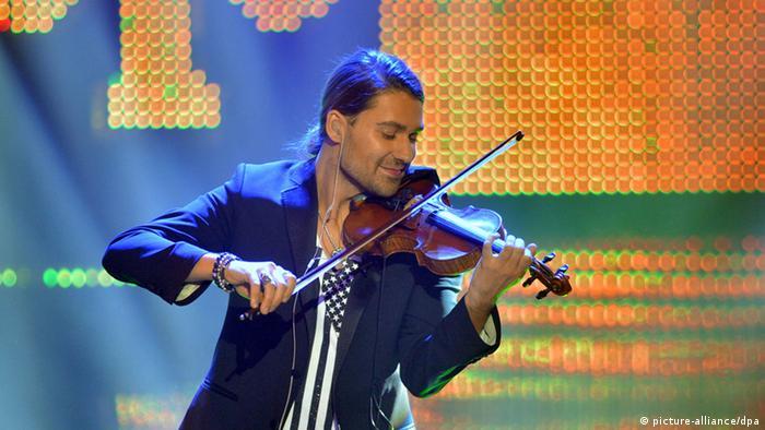 Марія Бурмака мріє потрапити на концерт німецького скрипаля Девіда Ґарретта.