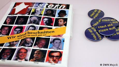 Ausstellung, Die ganze Wahrheit Jüdisches Museum Berlin, Foto: DW/Nadine Wojcik