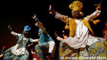 Indischer Tanz Bhangra