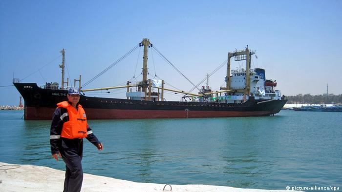 Libysches Hilfsschiff