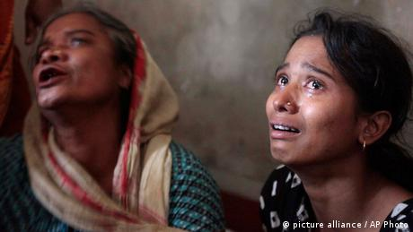 Bangladesch Tornado Opfer