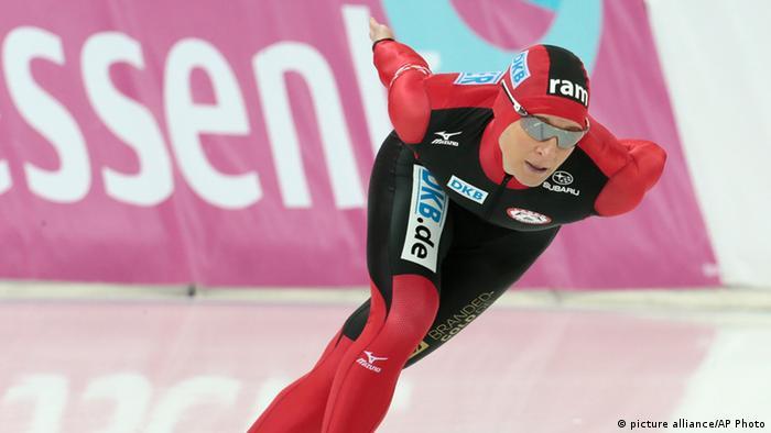 Claudia Pechstein Eisschnelllauf