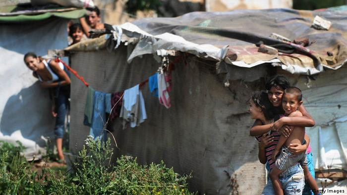 Roma in Bulgaria (AFP/Getty Images)