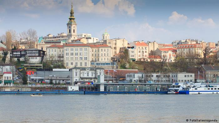 Belgrad Serbien Stadtansicht