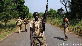 Armed members of the Seleka rebel group in the Central African Republic. Photo: SIA KAMBOU/AFP/Getty Images)