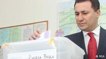 O πρωθυπουργός της ΠΓΔΜ Νίκολα Γκρούεφσκι