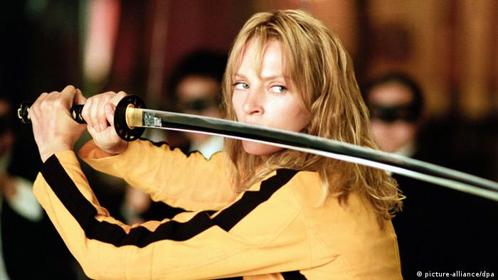Filmszene mit Uma Thurman aus Kill Bill, Teil 1 (picture-alliance/dpa)