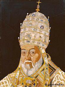 Ein Gemäde von Papst Clemens VIII.
