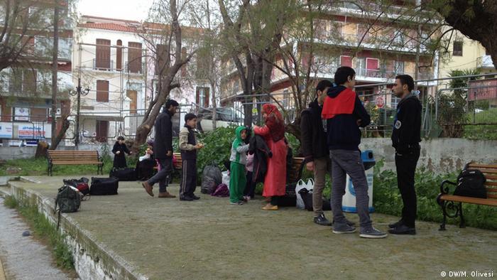 Syrien Flüchtlinge in Griechenland