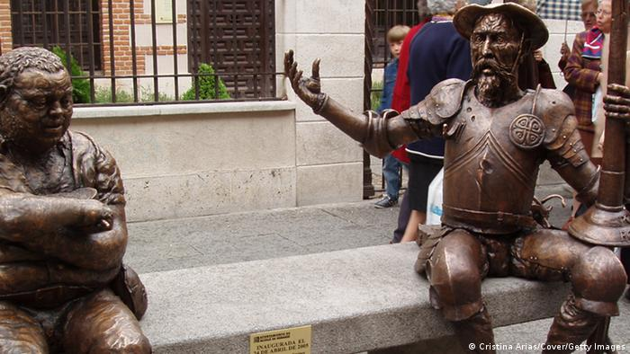 IV Centennial El Quijote. Conmemorative acts in Alcala de Henares, Cervantes birth´s place. (Photo by Cristina Arias/Cover/Getty Images)