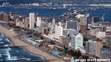 Südafrika Luftaufnahme Stadtstrand Durban