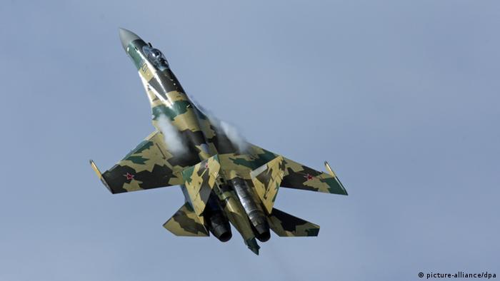 Russland Kampfjet Sukhoi Su-35