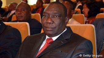 Chief of the SELEKA rebel alliance Michel Djotodia who seized power in CAR in March 2013