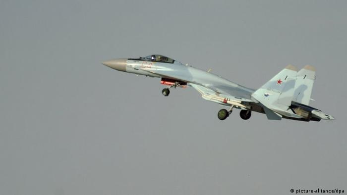 Waffendeal Russland China Sukhoi Su-35 Kampfflieger (picture-alliance/dpa)