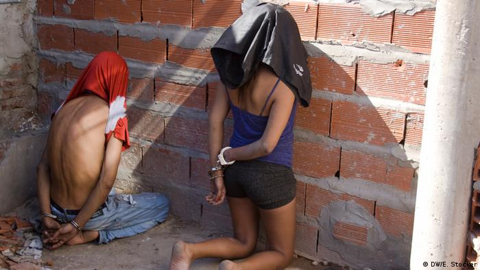 Two people arrested a drugs bunker during a raid in Rosario