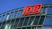 Deutsche Bahn Logo Bahntower Berlin