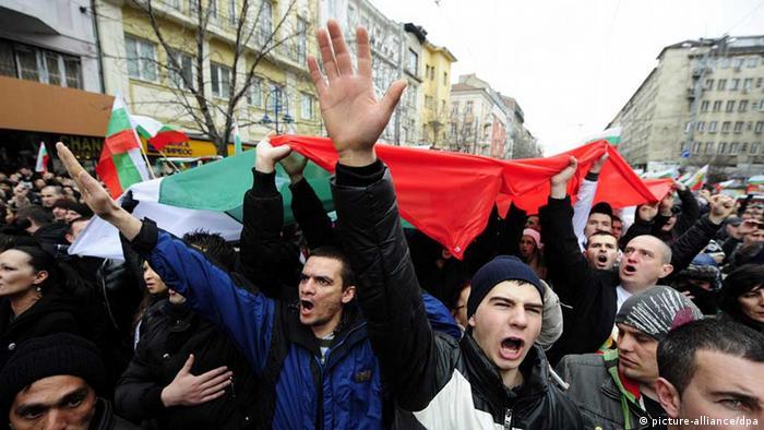 Bulgarien Protest gegen Armut