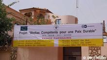 Maison des Médias du Tchad (photo: DW Akademie/Johann Müller)