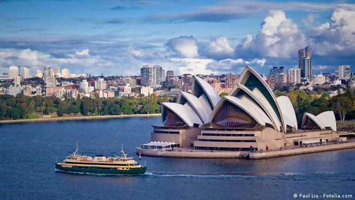 A view of Sydney's Opera House surrounded by water (Paul Liu - Fotolia.com)