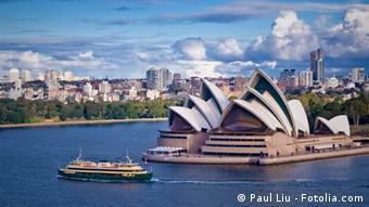 Sydney Oper Fähre