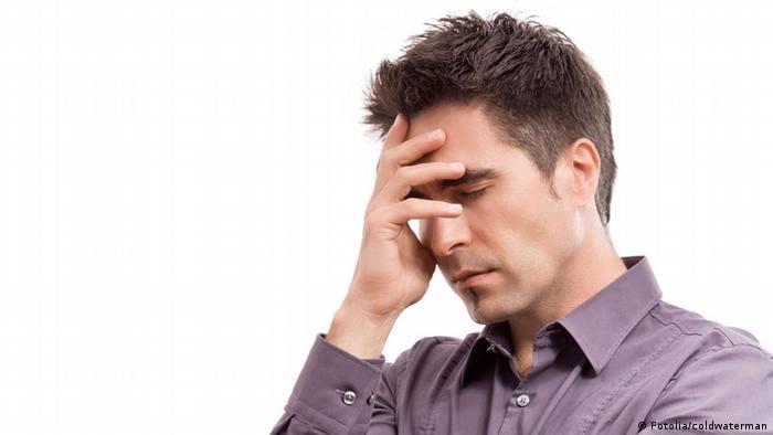 Symbolbild Kopfschmerzen Migräne (Fotolia/coldwaterman)