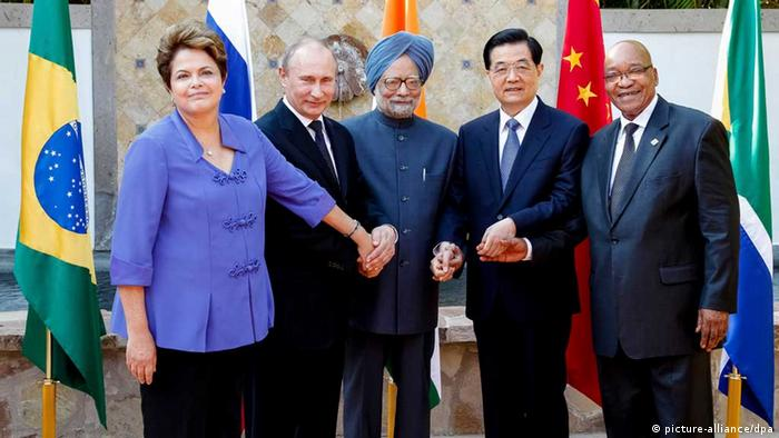 BRICS heads of state (photo: dpa Bildfunk)