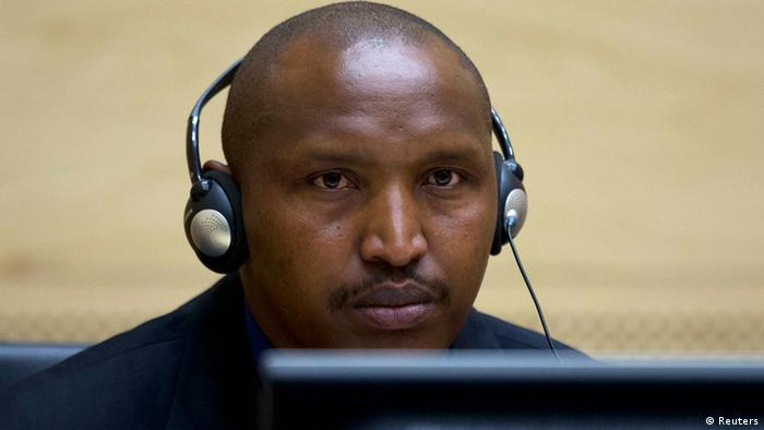 Congolese warlord Bosco Ntaganda looks on during his first appearance before judges at the International Criminal Court in the Hague (Photo: REUTERS/Peter Dejong/Pool)