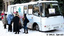 Mobiles Tuberkulose Labor Ukraine Kiew