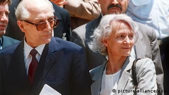 Эрих и Маргот Хонеккер