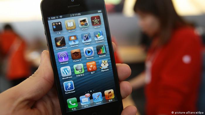 Symbolbild China Mobiltelefon