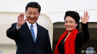 China Präsidentenfrau Peng Liyuan als First Lady in Dar es Salaam