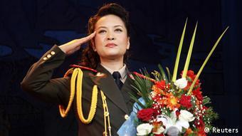 Seit 32 Jahren dient Peng der Volksbefreiungsarmee. (Foto: REUTERS/Stringer)