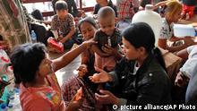 Myanmar Unruhen Flüchtlinge in Meikhtila 24.03.2013