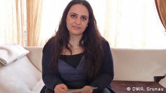 Gamze Kubasik, Tochter des NSU-Mordopfers Mehmet Kubasik (Foto: DW)