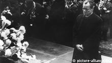 70 Jahre Aufstand im Warschauer Ghetto Kniefall Willy Brandt