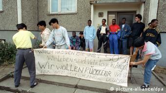 DW 60 Jahre Ausschreitungen in Hoyerswerda 1991