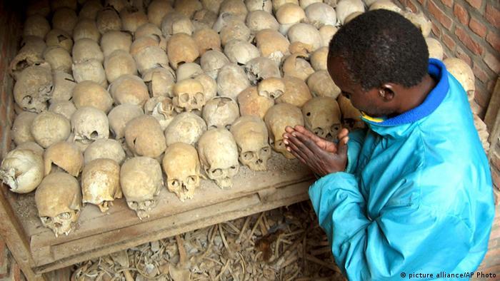 Die Gedenkstätte Nyamata unweit der Hauptstadt Kigali