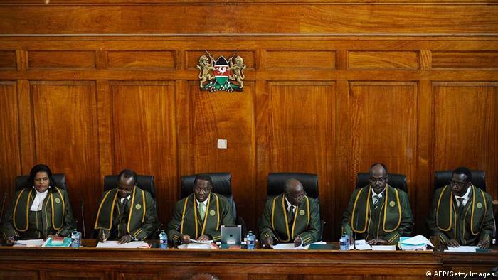 Kenias oberster Gerichtshof (Foto: TONY KARUMBA/AFP/Getty Images)