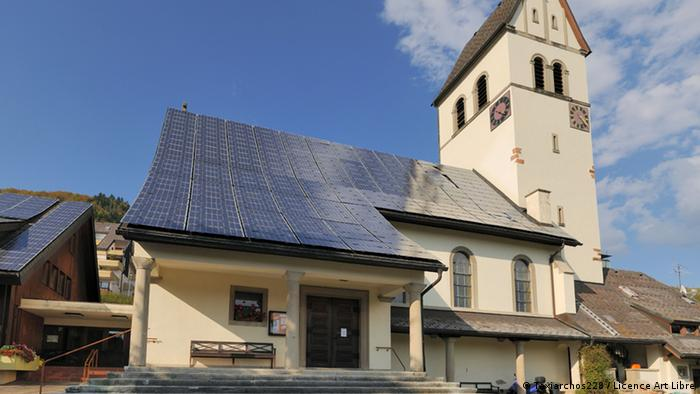 Solardach Kirche