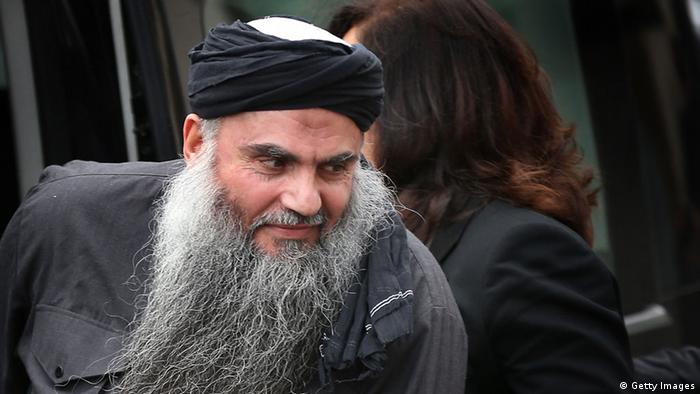 LONDON, UNITED KINGDOM - NOVEMBER 13: Muslim Cleric Abu Qatada arrives home after being released from prison on November 13, 2012 in London, England. Abu Qatada was released on bail, having won his appeal against deportation, claiming he would not get a fair trial in Jordan where he is accused of plotting bomb attacks. (Photo by Peter Macdiarmid/Getty Images)